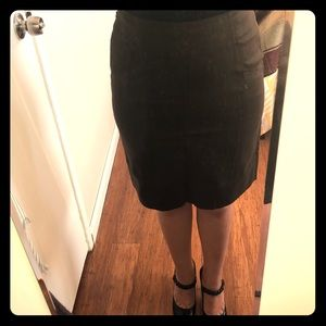 Ann Taylor pencil skirt with kick pleat size 6